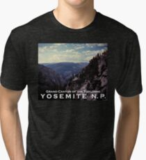 Grand Canyon of the Tuolumne - Yosemite N.P. Tri-blend T-Shirt