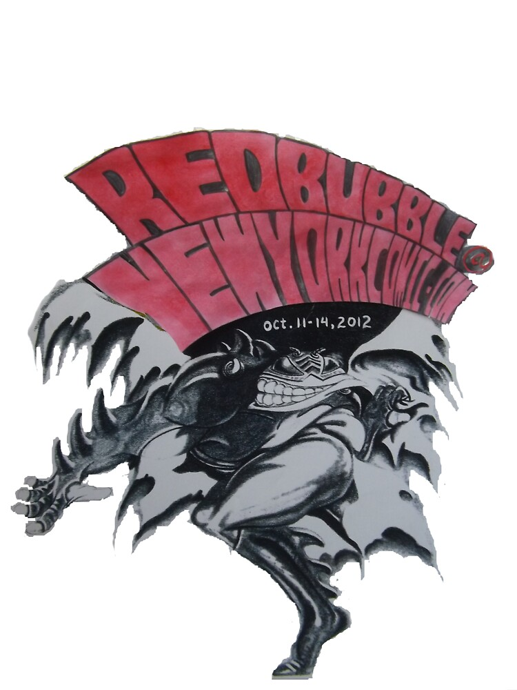 REDBUBBLE at NEW YORK COMIC CON by leethompson