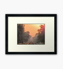 New World Framed Print