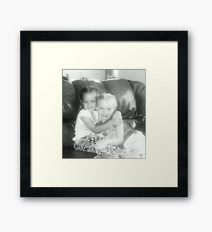 Beautiful Cousins Framed Print