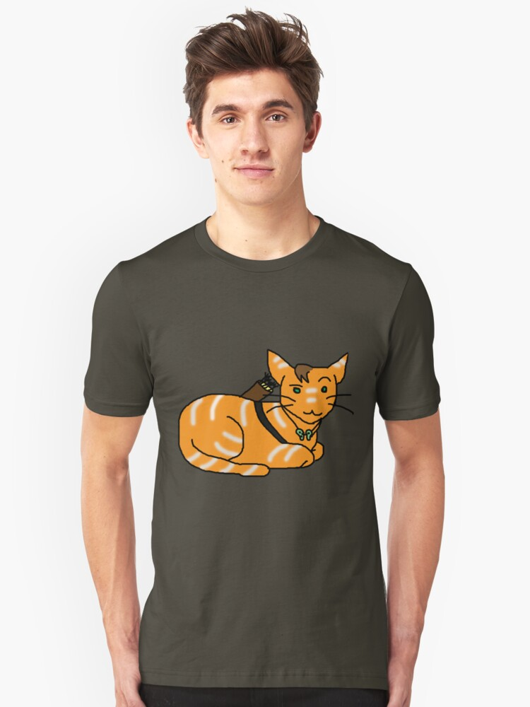 Daryl Dixon Kitty Unisex T-Shirt Front