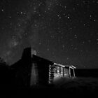 Curly's Cabin at the Ghost Ranch by Mitchell Tillison