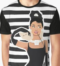 Breakfast with Audrey  Graphic T-Shirt