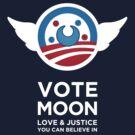 Moon President Power by Rachael Raymer