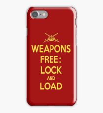 Weapons Free: Lock N Load iPhone 7 Case