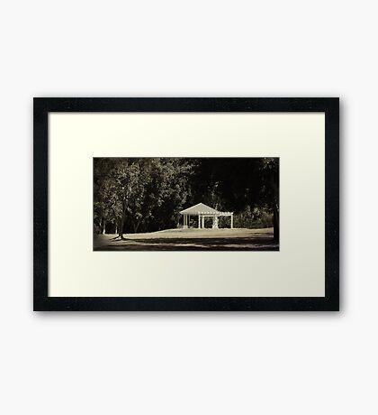 Gazebo Framed Print