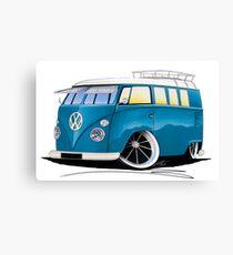 VW Splitty (11 Window) J Canvas Print