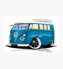 VW Splitty (11 Window) J Photographic Print