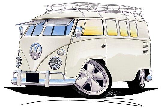 VW Splitty (11 Window) N by Richard Yeomans