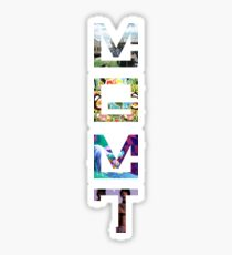 MGMT Albums Sticker