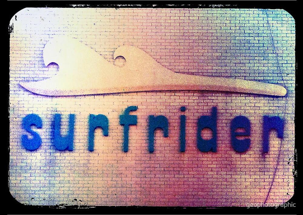 retro surfrider by geophotographic