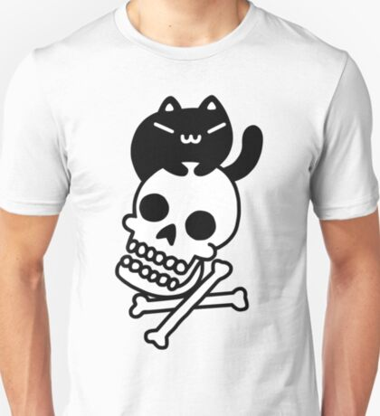 Cat And Crossbones T-Shirt