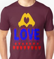 ۞»♥A Bleeding Passionate Love Clothing & Stickers♥«۞ Unisex T-Shirt