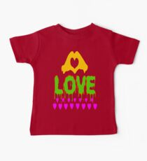 ۞»♥A Bleeding Passionate Love Clothing & Stickers♥«۞ Baby Tee