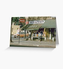 Jimmy's eatery 19570615 0029  Greeting Card