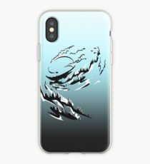 Mountain Surfing iPhone Case