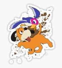 Duck Hunt Duo - Super Smash Bros Sticker