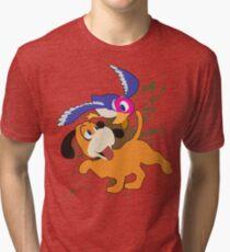 Duck Hunt Duo - Super Smash Bros Tri-blend T-Shirt