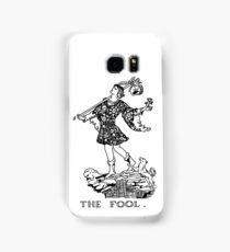 The Fool Tarot Card Samsung Galaxy Case/Skin