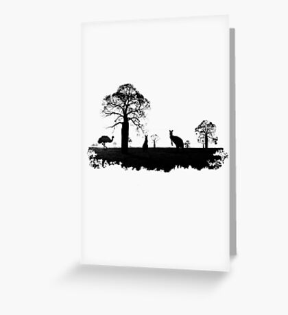 Outback Australia Greeting Card