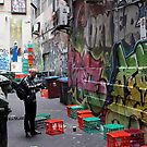 Crates or Graffiti…which shot? by John Sharp