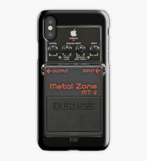 MetalZone iPhone Case/Skin