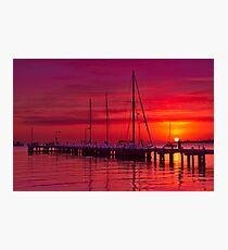 """Nautical Dawn"" Photographic Print"