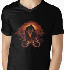 Scar König der Löwen T-Shirt mit V-Ausschnitt für Männer