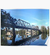 Tuross River Bridge Poster