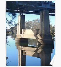 Tuross River Bridge Pier Poster