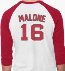 malone no 16 Men's Baseball ¾ T-Shirt