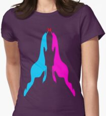 ۞»♥Unicorns: Legendary Love Romantic Clothing & Stickers♥«۞ Womens Fitted T-Shirt