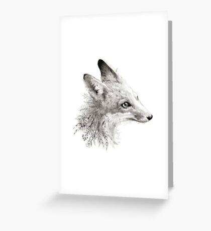 A Young Fox Greeting Card