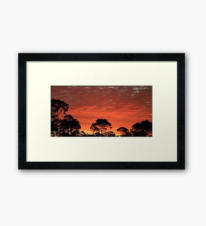 Oh Mother Nature, how wonderful you are!! Framed Print