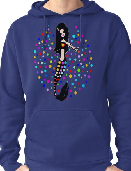 ♔♥Gorgeous Sparkling Little Mermaid Clothing & Stickers♥♔ Pullover Hoodie