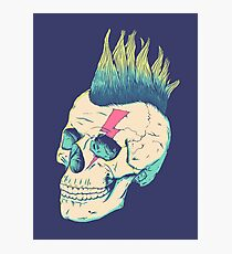 Skull Punk Photographic Print