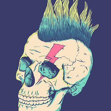 Skull Punk von victorsbeard