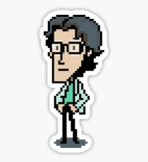 Otacon Sprite - Metal Gear Solid 2 / Sons of Liberty Sticker