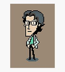 Otacon Sprite - Metal Gear Solid 2 / Sons of Liberty Photographic Print