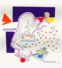 Night Drawings - Les Dessins de Nuit n°47  - Self-portrait Poster