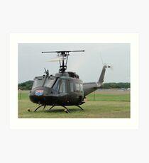 Huey UH-1H 72-21509 Art Print