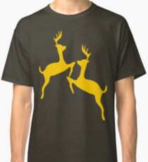 ۞»♥Golden Jumping Deer Couple Clothing & Stickers♥«۞ Classic T-Shirt