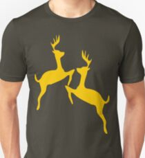 ۞»♥Golden Jumping Deer Couple Clothing & Stickers♥«۞ T-Shirt