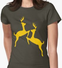 ۞»♥Golden Jumping Deer Couple Clothing & Stickers♥«۞ T-Shirt
