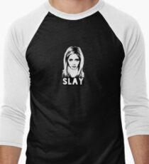Slay! Men's Baseball ¾ T-Shirt