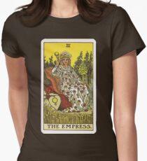 Tarot Card - The Empress Womens Fitted T-Shirt