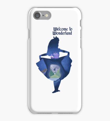 Wonderland 2 iPhone Case/Skin
