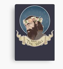 Scale The Wall Canvas Print