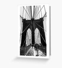 Brooklyn Bridge NYC Greeting Card