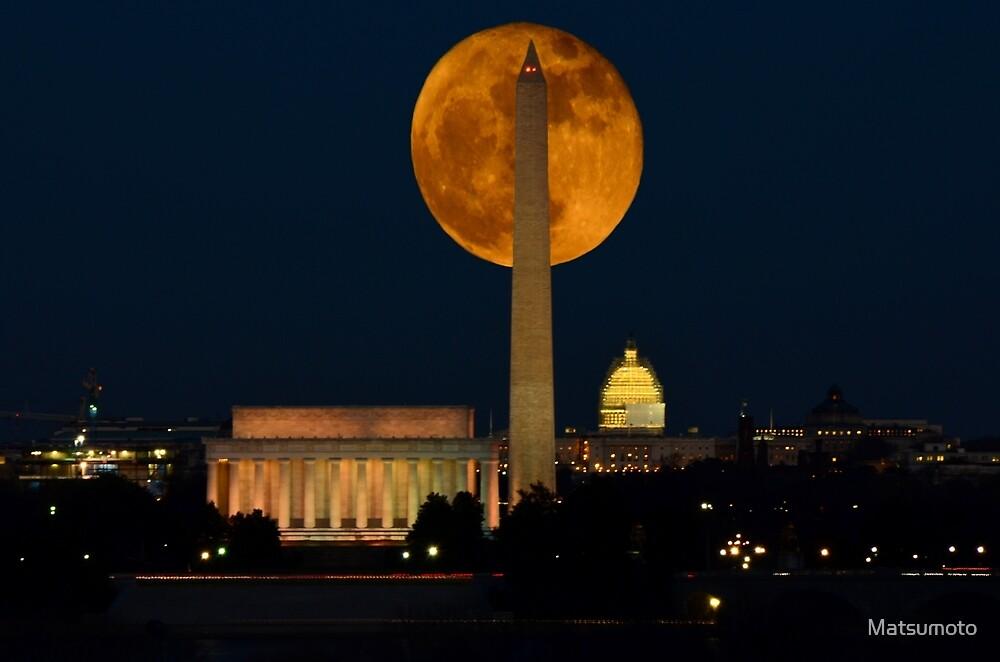 Hunters Moon - Washington D.C. by Matsumoto